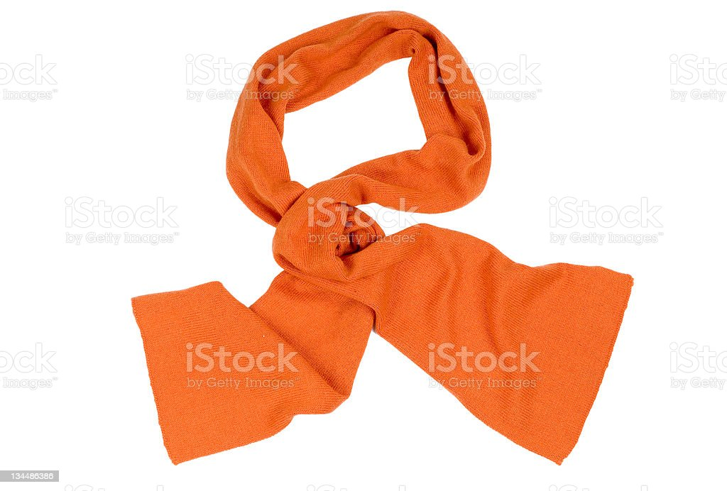 Female scarf isolated against royalty-free stock photo