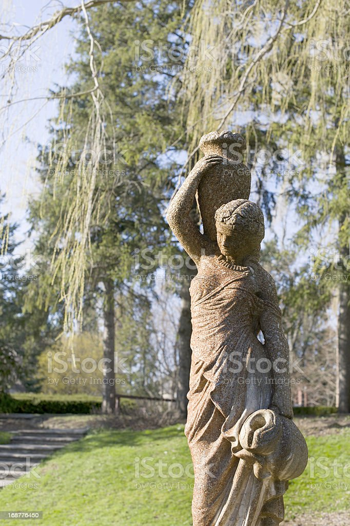 female sculpture royalty-free stock photo