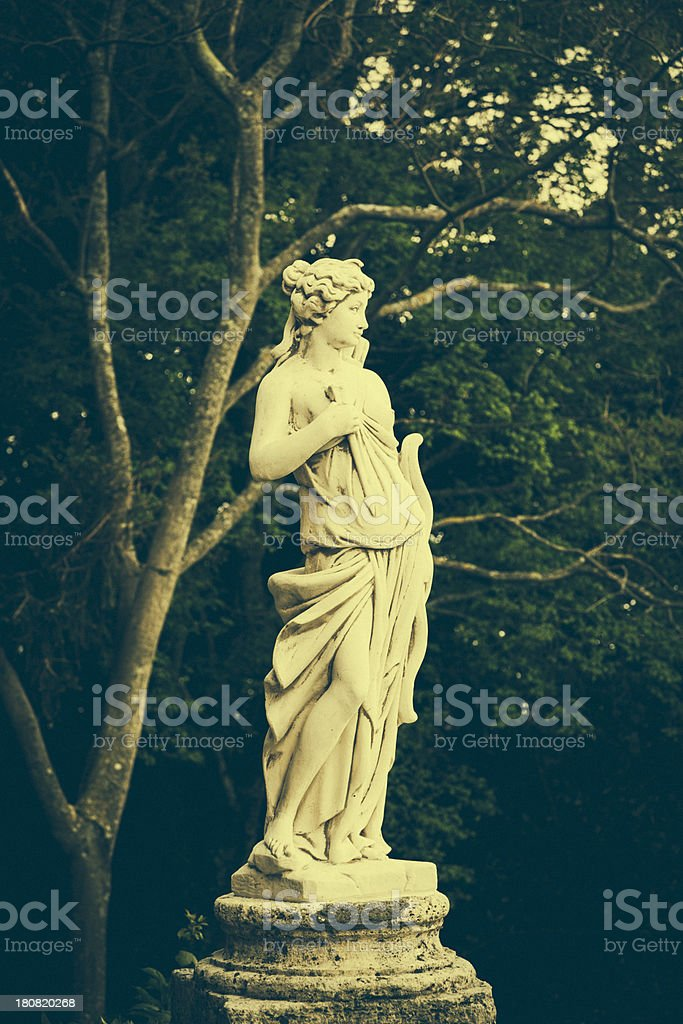 Female sculpture stock photo