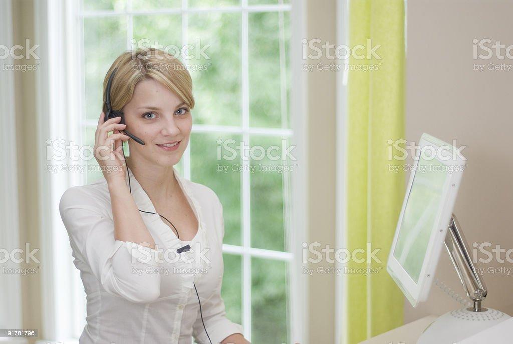 Secretário feminino - foto de acervo