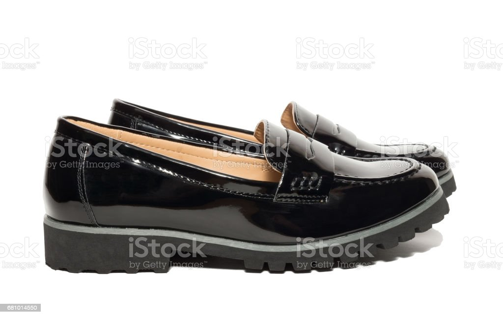 female shoes on a white background royalty-free stock photo