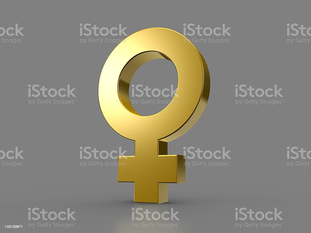 Female sign royalty-free stock photo