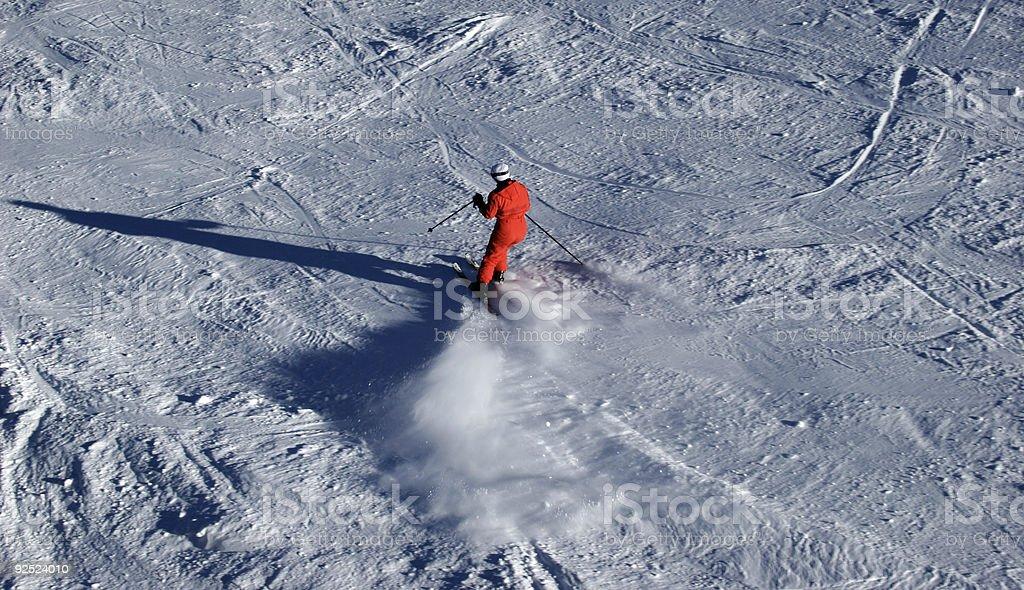 female skier royalty-free stock photo