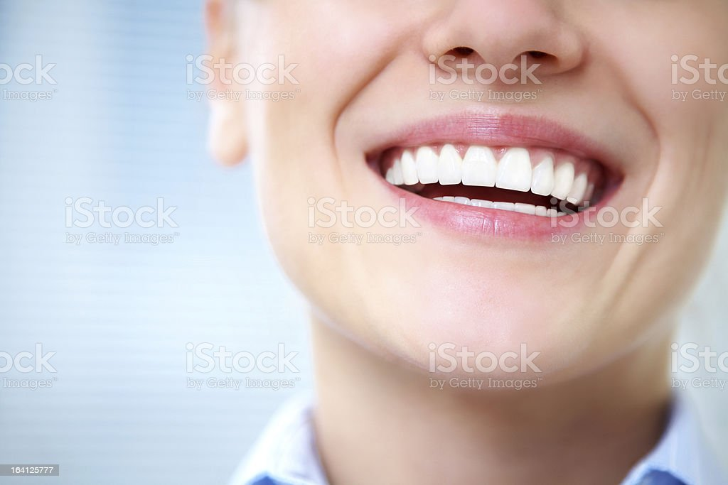 female smile stock photo