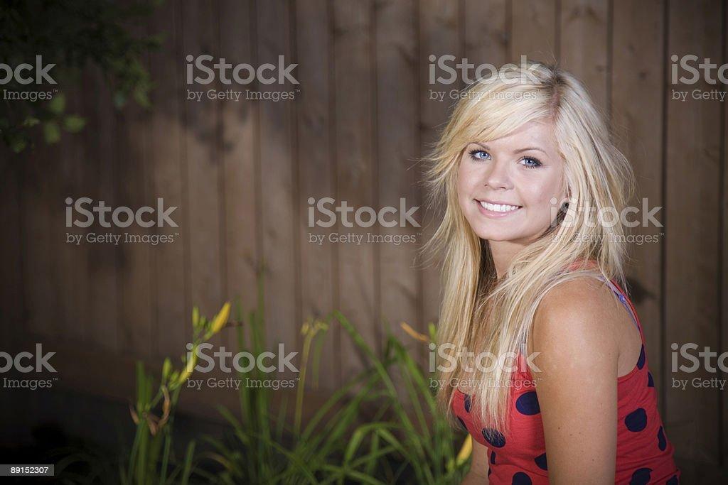 Female Smiling royalty-free stock photo