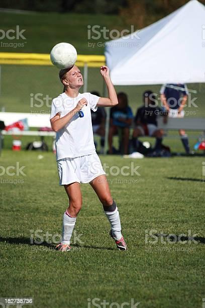 Female soccer player heading ball picture id182738736?b=1&k=6&m=182738736&s=612x612&h=6bidh51ooqyen8a0trbijyytgnnb f 5ue6rfzytqrs=