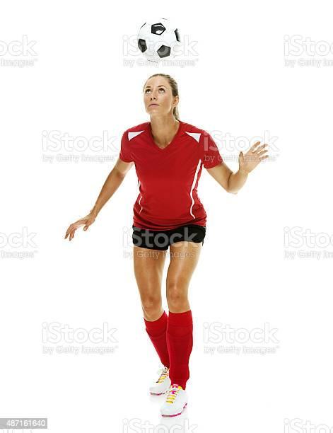 Female soccer player heading the ball picture id487161640?b=1&k=6&m=487161640&s=612x612&h=3nq1drt ldeeh88ggtbbglscvruxoa0 wkrafbw8xla=