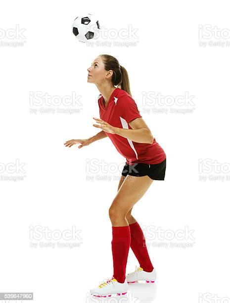 Female soccer player heading the ball picture id539647960?b=1&k=6&m=539647960&s=612x612&h=vgnhxzxdz8cm9lhrwh6kdf0lpeegtz8x0mjiqio6x50=