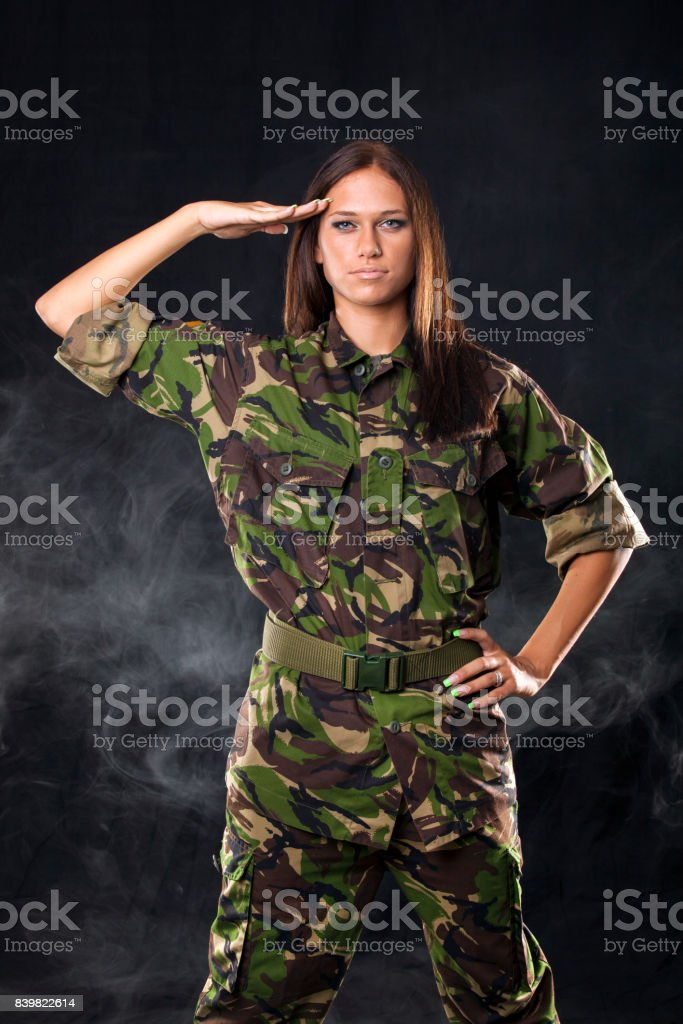 Soldier female sexy Sexy Army