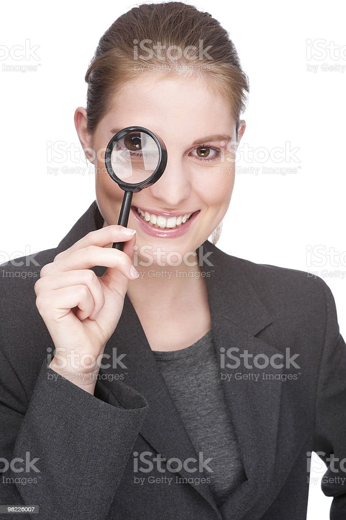 Female spy royalty-free stock photo
