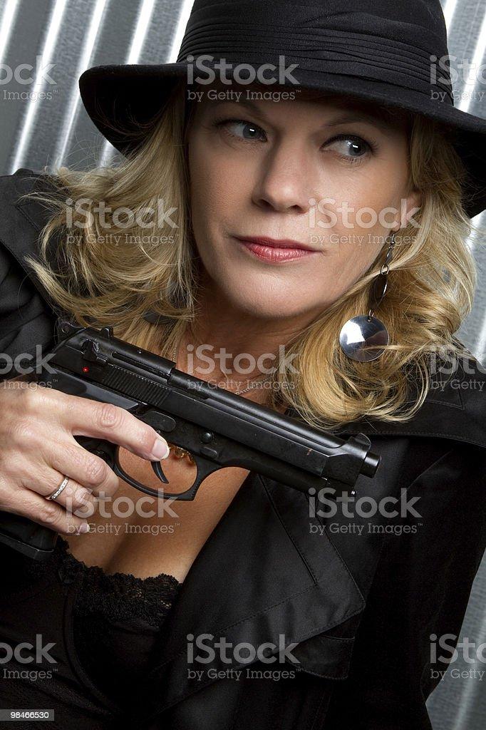 Female Spy royalty-free stock photo