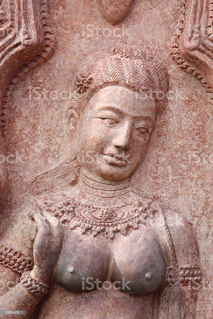 female statue stock photo