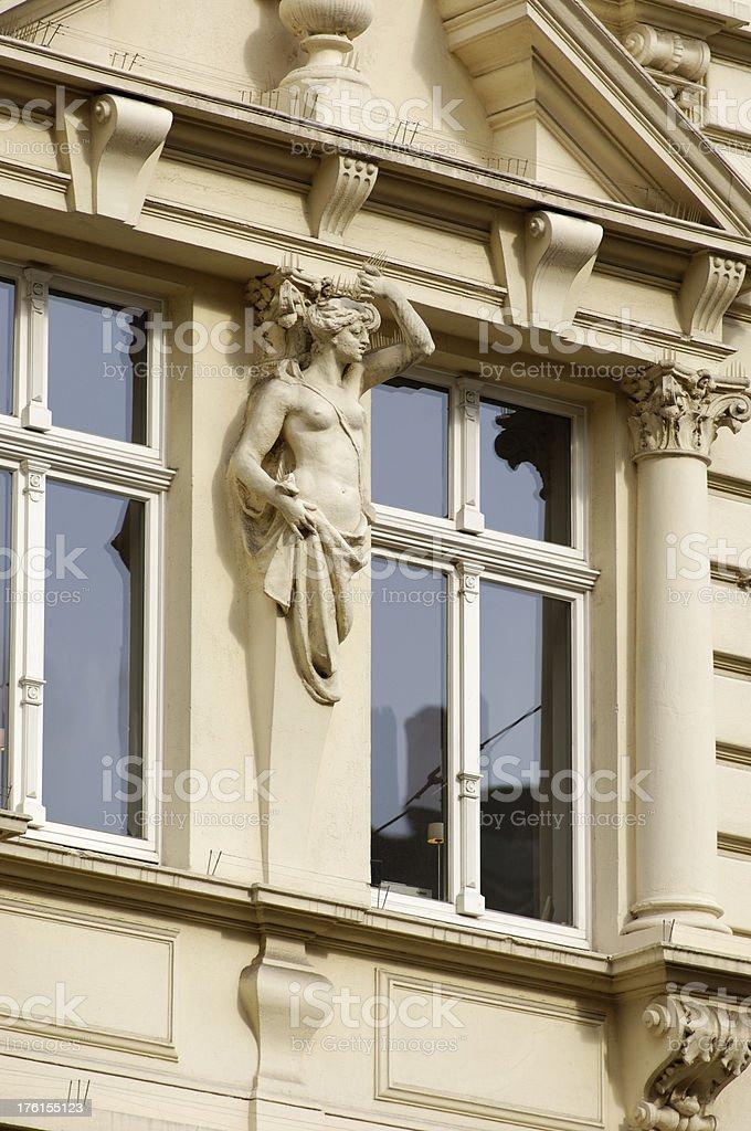 Female statue royalty-free stock photo