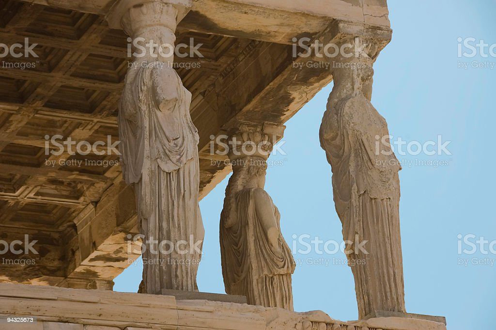 Female statues royalty-free stock photo