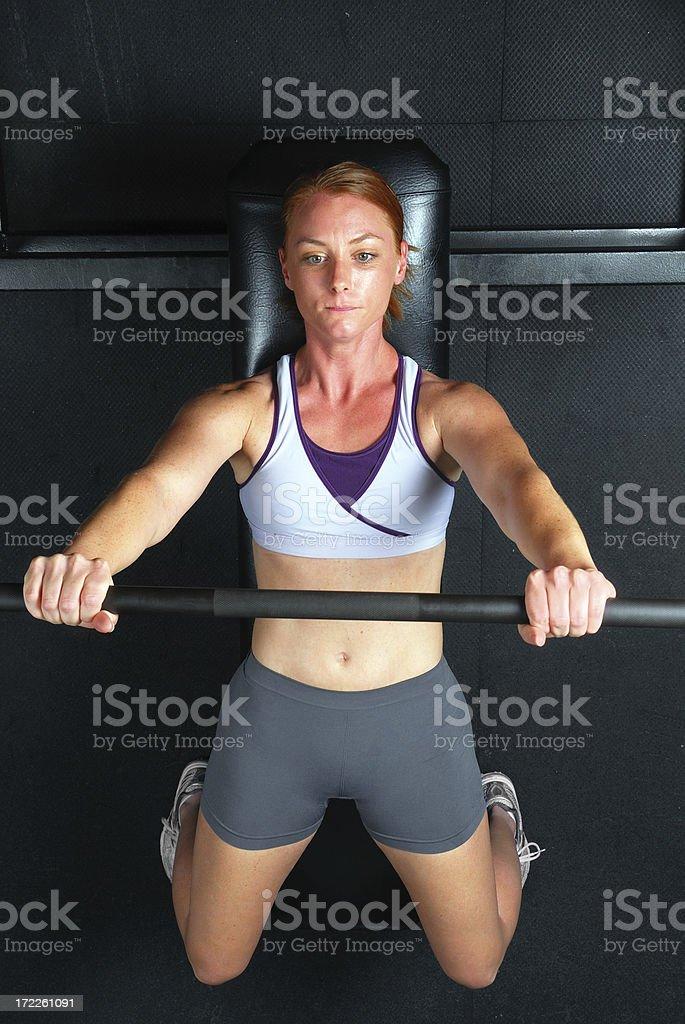 Female Strength stock photo