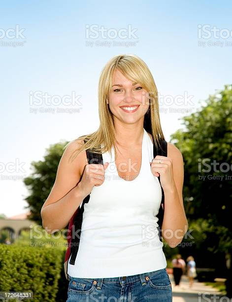 Female Student Stock Photo - Download Image Now
