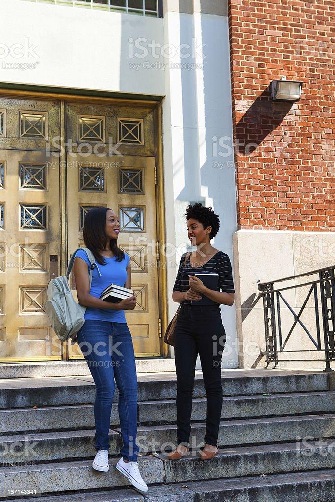 Female students royalty-free stock photo