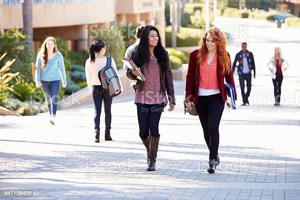 Female students walking outdoors on university campus picture id547139420?b=1&k=6&m=547139420&s=612x612&h=jknkten1dbe8raiku5jc3xwhjuswnzaf2wkynewvbni=