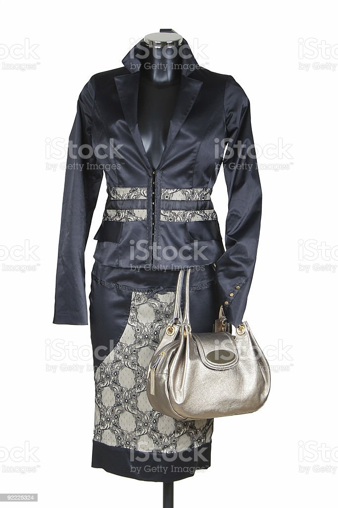Female suit royalty-free stock photo