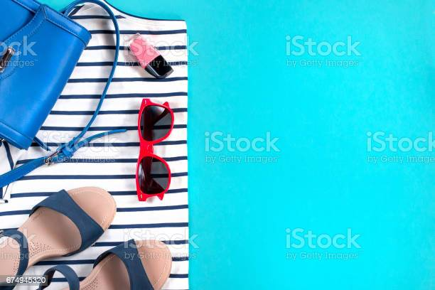Female summer clothes collection sea theme picture id674945320?b=1&k=6&m=674945320&s=612x612&h=80afpeuvlxo4plu1n5k9d053oxwx75vtevwej53f8nk=