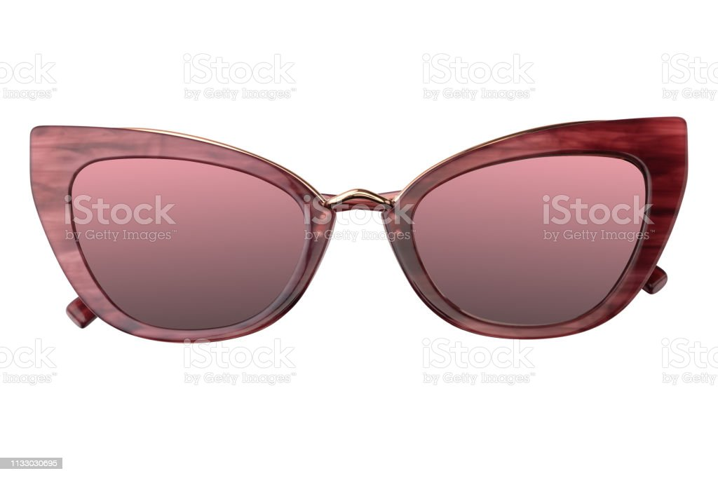 3ef0f0f9b Female Sunglasses coral plastic vintage with Mirror Lens living coral  gradient trendy color 2019 isolated on