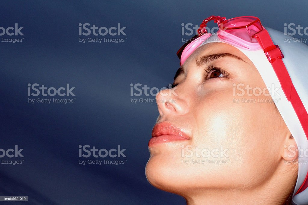 Female swimmer royalty free stockfoto