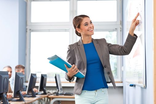Female Teacher Stock Photo - Download Image Now