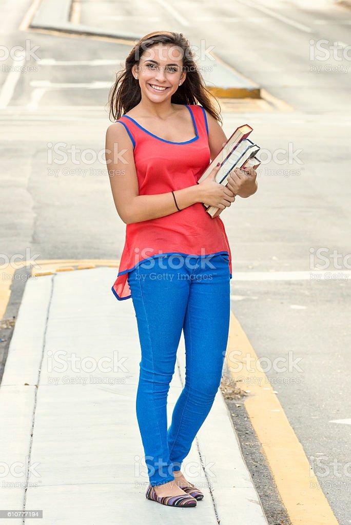 Female Teenage Student Royalty Free Stock Photo
