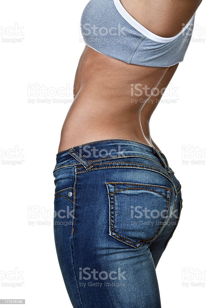 Female torso stock photo