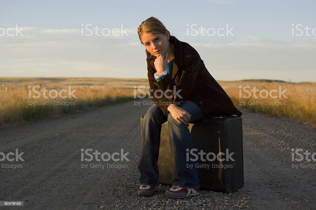 Female Travel royalty-free stock photo