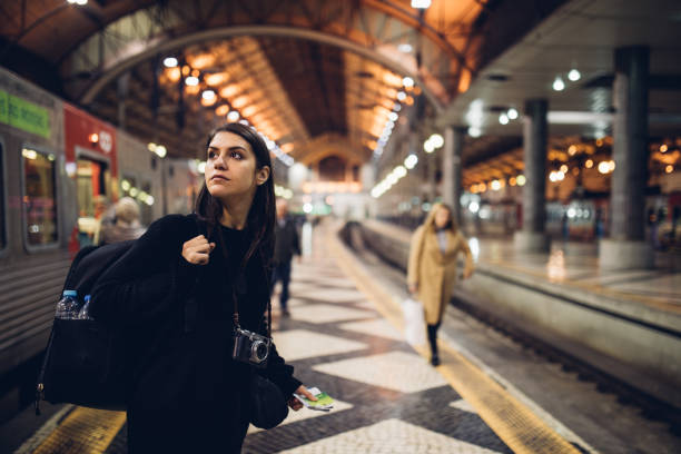 Female traveler searching for directionswaiting for the in foreign picture id918179726?b=1&k=6&m=918179726&s=612x612&w=0&h=hnv8hvlw4ikpdaah2f4szt96ok2qzukwcf5xukv5ftw=
