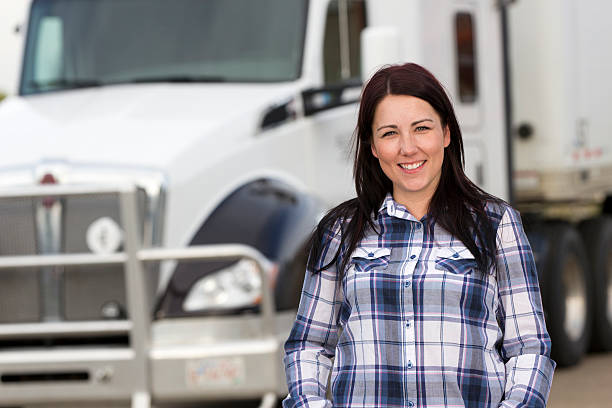 Weibliche Trucker - – Foto