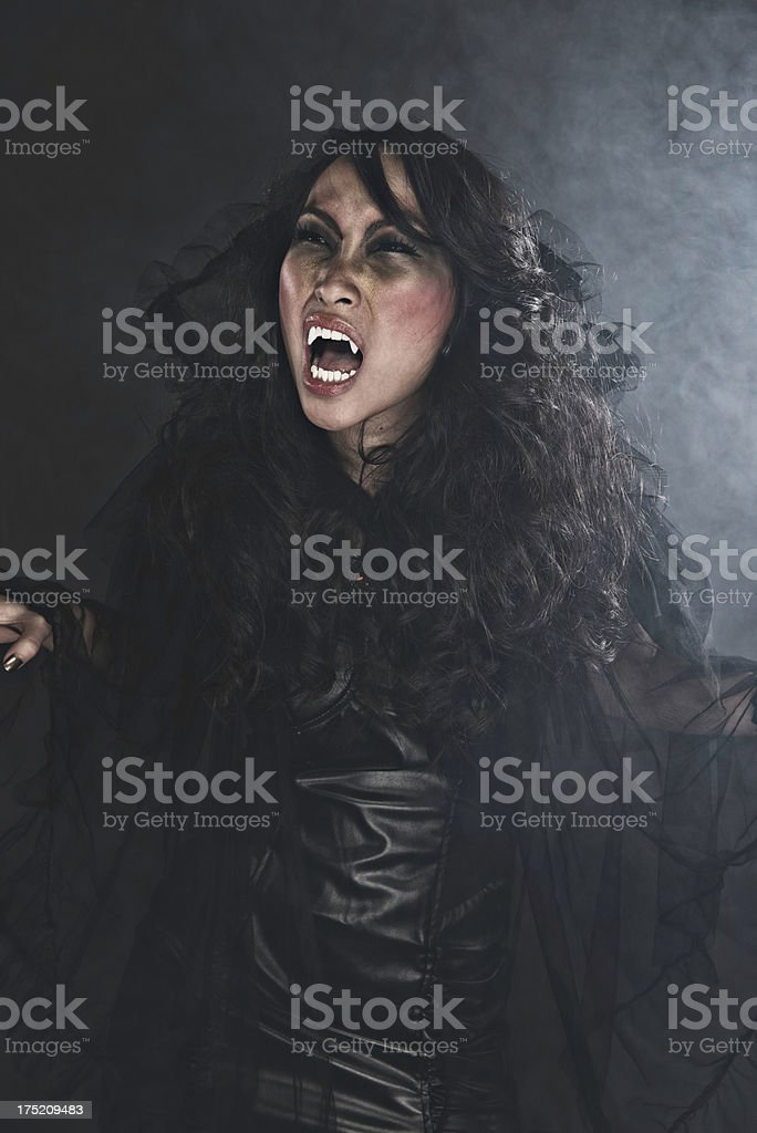 Female Vampire royalty-free stock photo