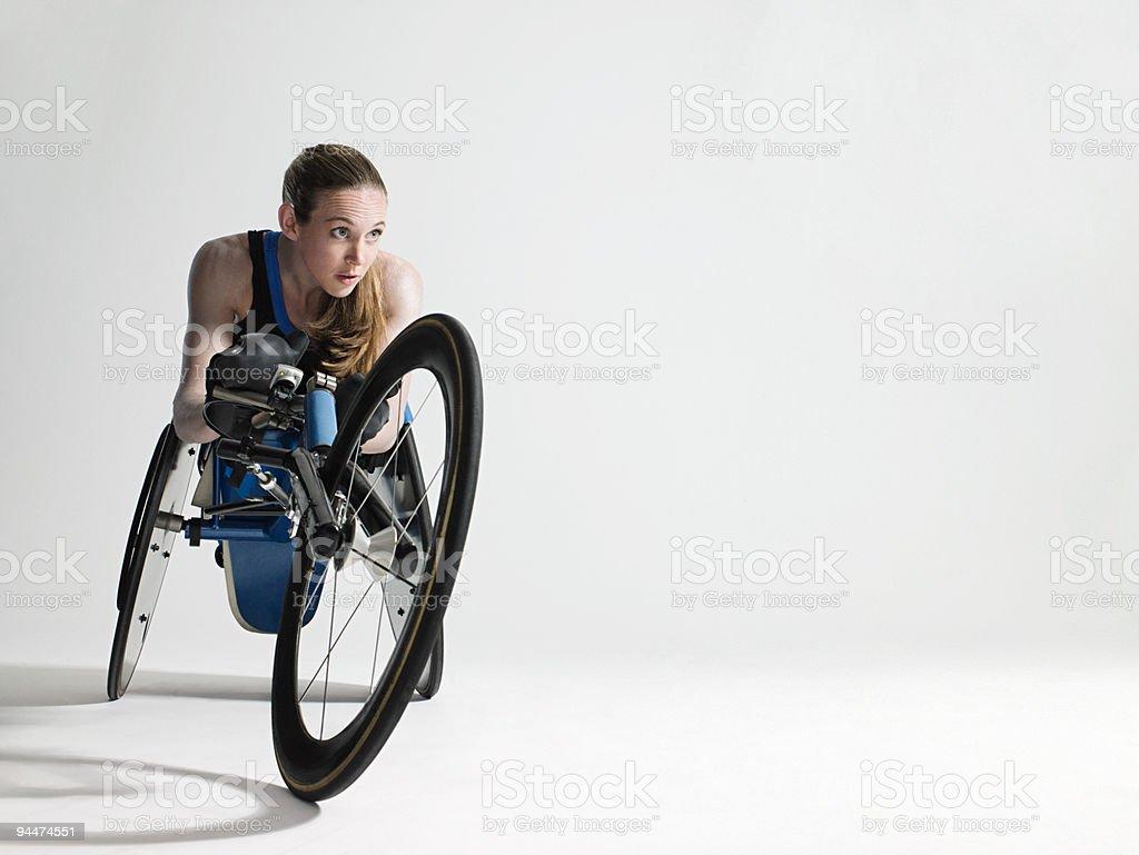 Weibliche Rollstuhl Athleten – Foto