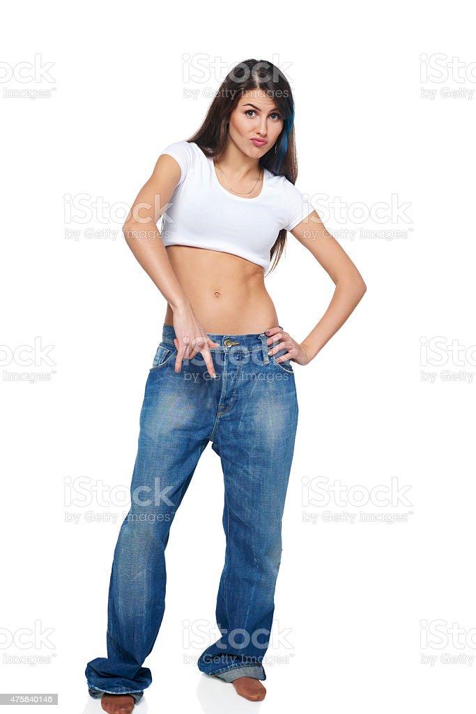 Женщина с funk экспрессии стоковое фото