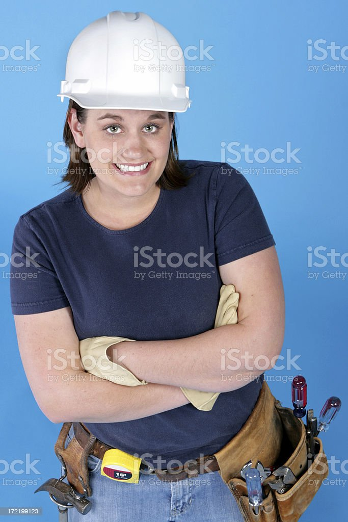 Female Worker royalty-free stock photo