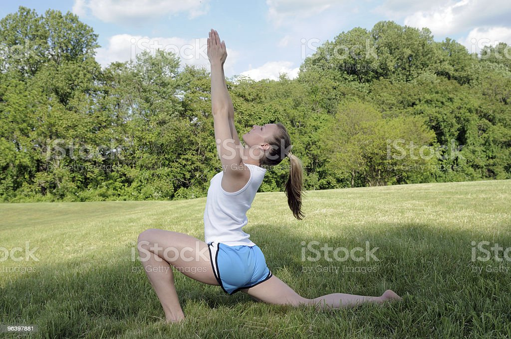 Female Yoga - Royalty-free 20-24 Years Stock Photo