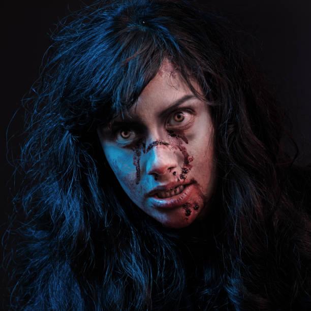 Female Zombie stock photo