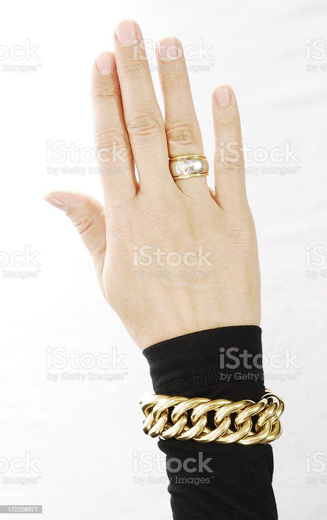 Females hand stock photo