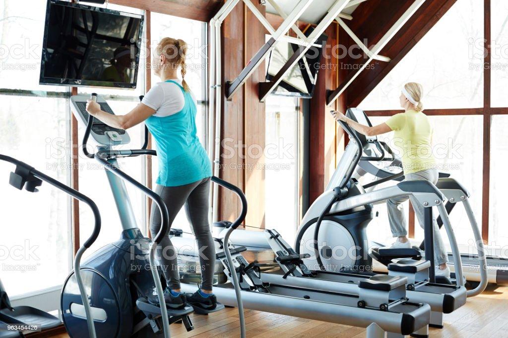 Kadın fitness merkezi - Royalty-free Aktif Hayat Tarzı Stok görsel
