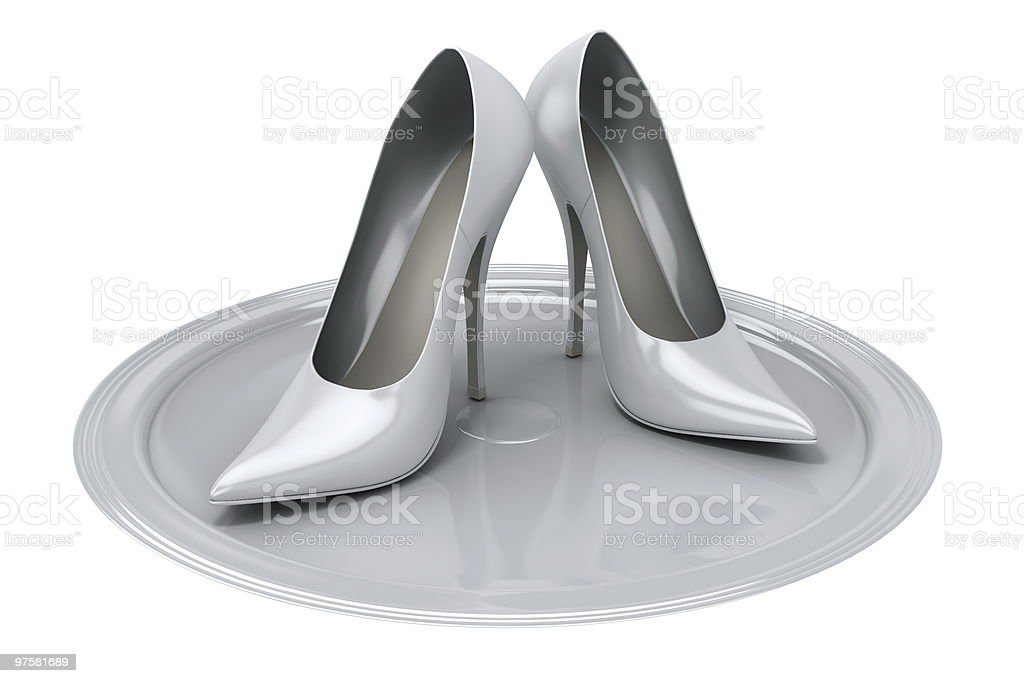 Female's shoes royalty-free stock photo