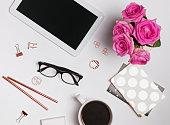 Femine workplace accessories