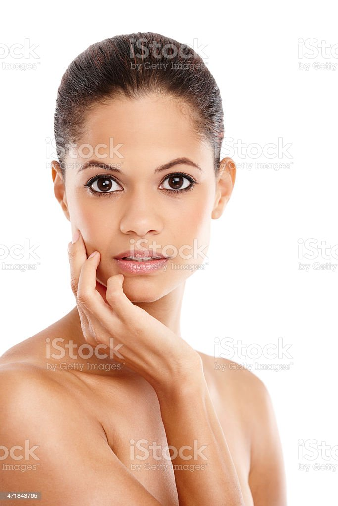 Feminine beauty royalty-free stock photo