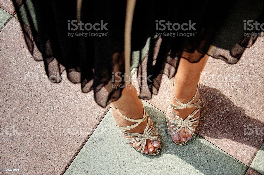 Weibliche Füße – Foto