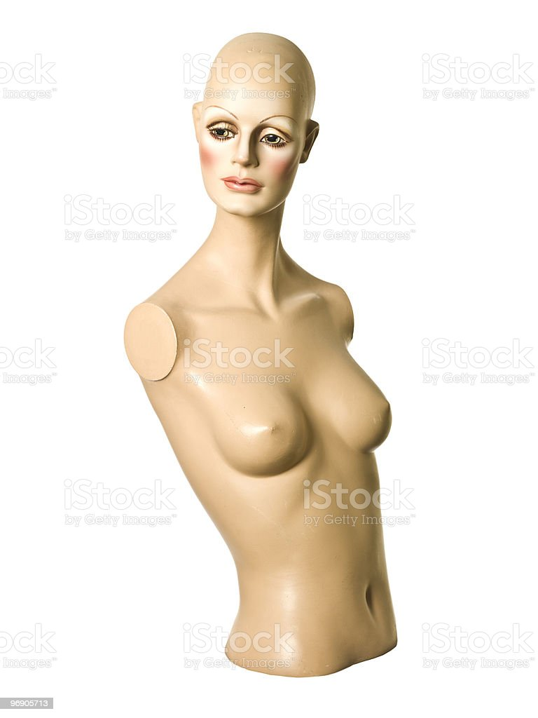 Feminine mannequin royalty-free stock photo