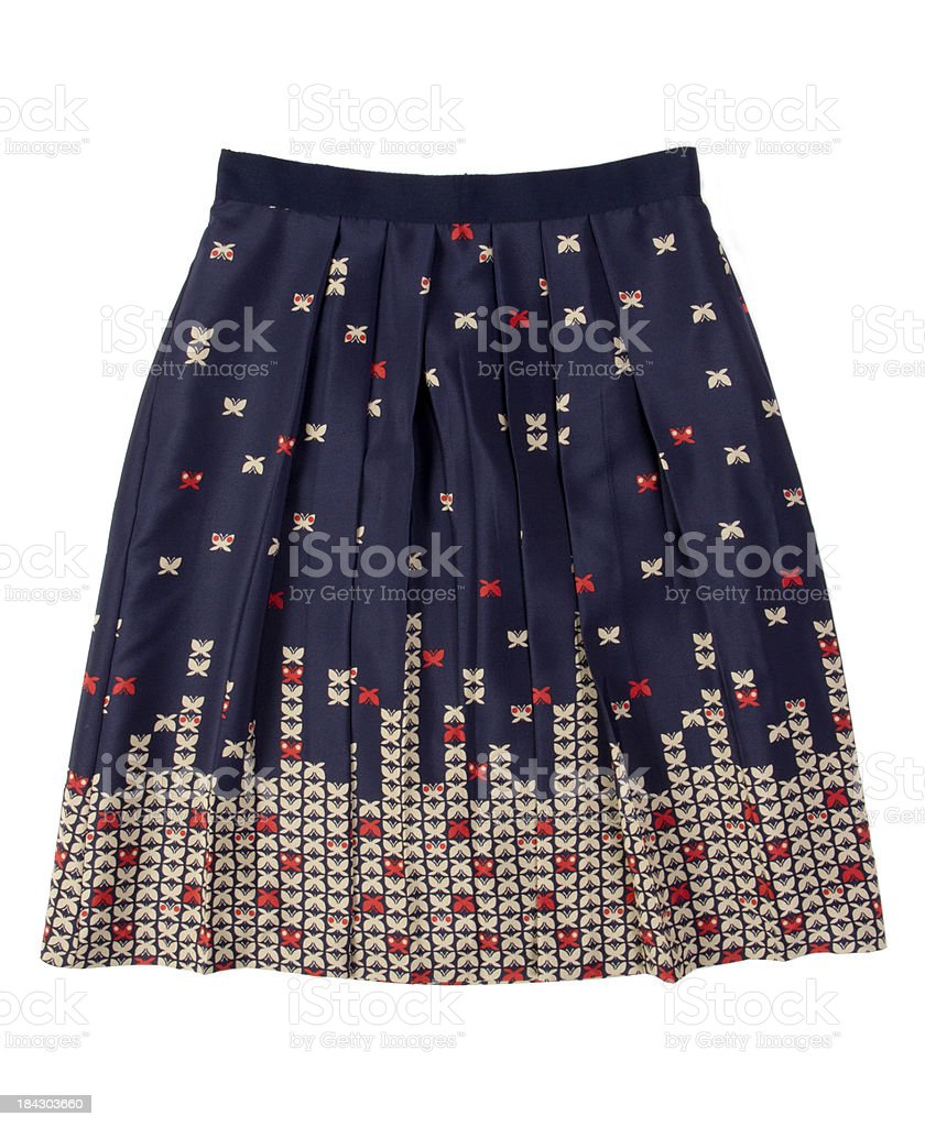 feminine skirt stock photo