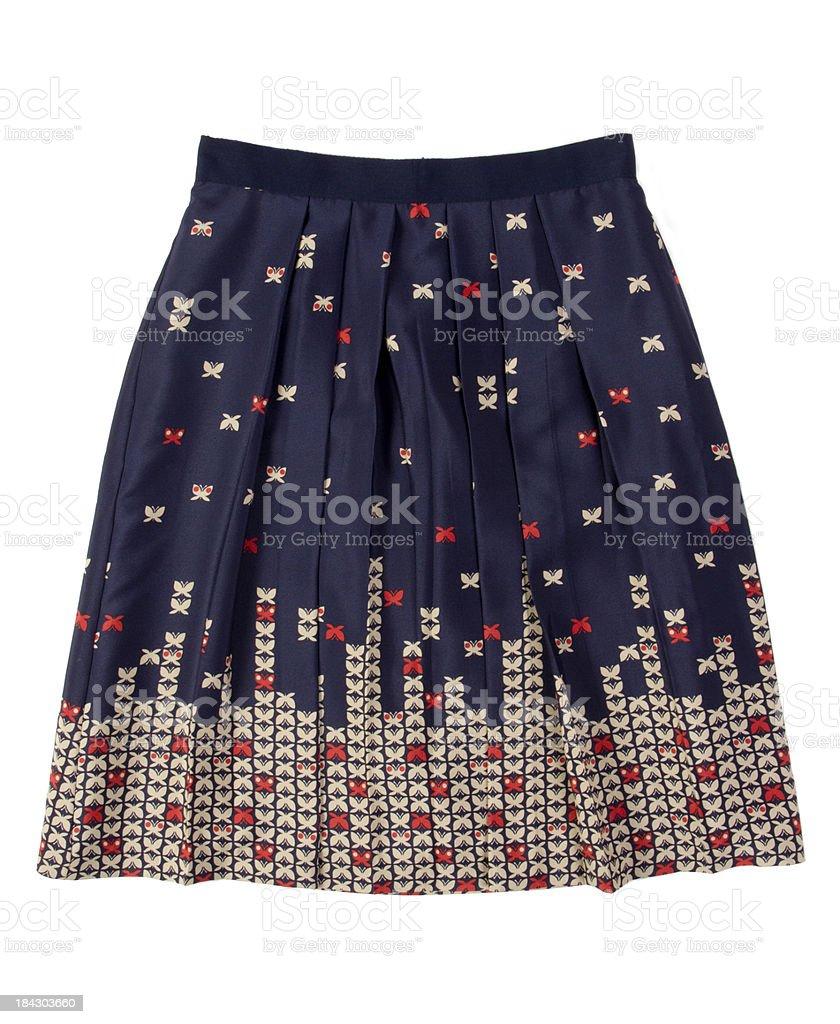 feminine skirt stock photo