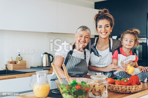 638984280 istock photo Femininity through generations 631932444