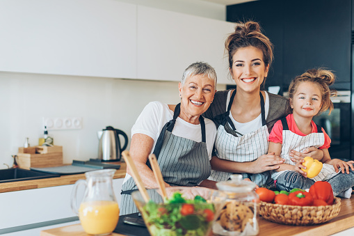 638984280 istock photo Femininity through generations 631932444