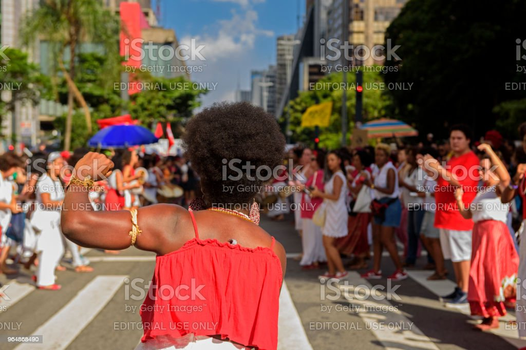 Feminism royalty-free stock photo